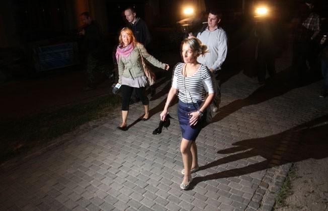 Gdańsk: Nocny performance o zaginięciu Iwony Wieczorek (FILM, ZDJĘCIA)