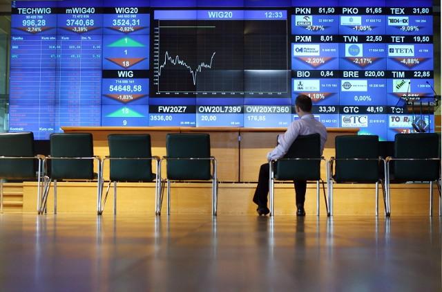 Zarobki na giełdzie wzrosły mimo kryzysu. Menedżerowie zarobili o 7 proc. więcej niż rok wcześniej