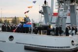 Świnoujście - Holownik H-12 Semko już z banderą. Zdjęcia z 8FOW