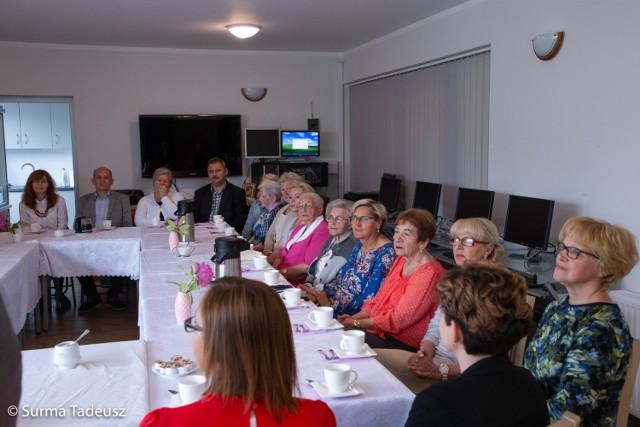 Seniorzy świętowali dziś okrągłą rocznicę.