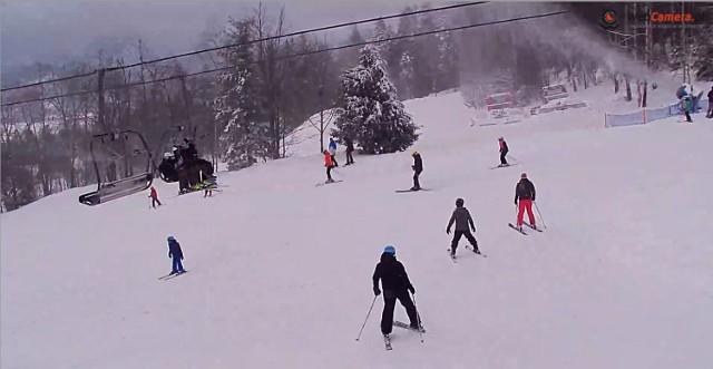 Nowa Osada, Wisła. Czynne trasy: 1,2,4,5, 6. Na wszystkich warunki dobre, od 40 do 80 cm śniegu.