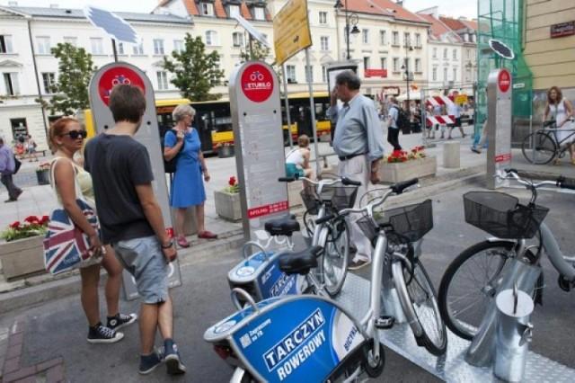 Veturilo. Warszawa wyróżniona wśród miast z rowerami publicznymi
