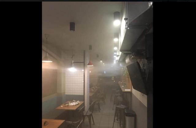 W gdańskiej restauracji SurfBurger doszło do pożaru.