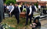 Pogrzeb Jana Zielińskiego, byłego wiceburmistrza Chojnic