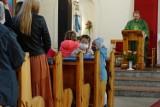 WSCHOWA. Msza św. w Kościele św. Trójcy na rozpoczęcie roku przedszkolnego dla dzieci z Niepublicznego Przedszkola S. Salezjanek[ZDJĘCIA]