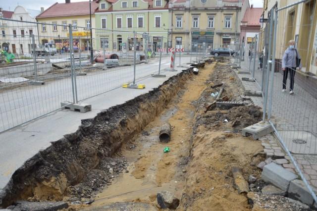 Rozpoczęcie przebudowy zachodniej pierzei Rynku, 29 września 2020