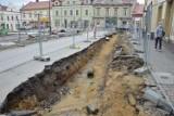 Zachodnia pierzeja Rynku zamknięta z powodu przebudowy