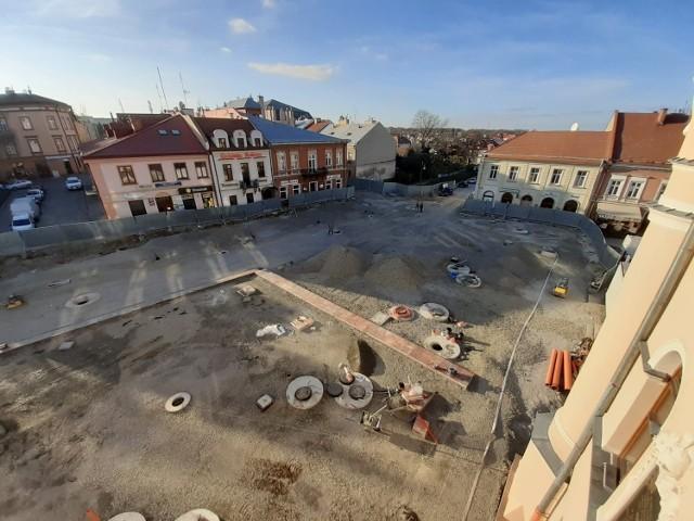 Remont Rynku w Jarosławiu. Zdjęcia archiwalne.