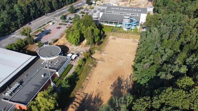 Przy Słowiance w Gorzowie powstaje nowy parking.