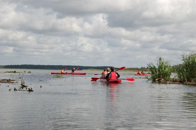 Jezioro Wielimie to także atrakcja turystyczna