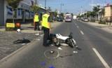 Tragiczny wypadek motocyklisty na Rocha w Częstochowie [ZDJĘCIA]. Zginął 41-letni mężczyzna