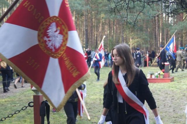 Uroczystości upamiętniające ofiary hitlerowskich egzekucji w Klamrach