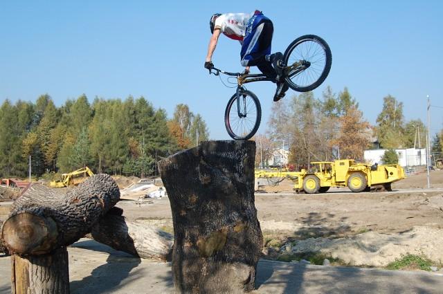 Park rekreacyjny w Olkuszu