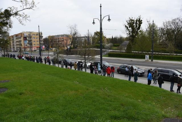 Masowe szczepienia na Jordankach w Toruniu ruszyły