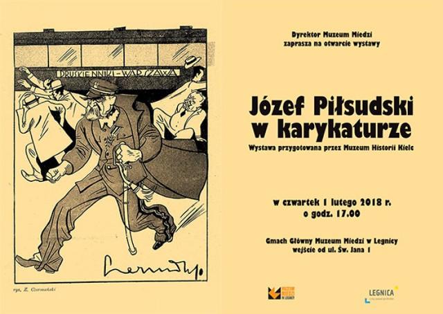 Niekonwencjonalnie w Muzeum Miedzi. Józef Piłsudski w karykaturze