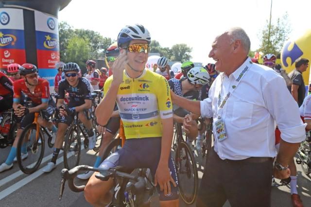 Start ostatniego etapu 78. Tour de Pologne miał miejsce w Zabrzu    Zobacz kolejne zdjęcia. Przesuwaj zdjęcia w prawo - naciśnij strzałkę lub przycisk NASTĘPNE