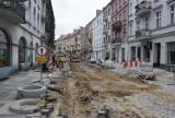 Remont ulic w kaliskim Śródmieściu. Zamkowa na finiszu, Śródmiejska wciąż w remoncie ZDJĘCIA