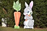 Wielkanocne zające pojawiły się na rynkach w Wielichowie i Grodzisku