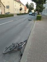 Z AKCJI: Groźne potrącenie nastoletniej rowerzystki w Krotoszynie [ZDJĘCIA]