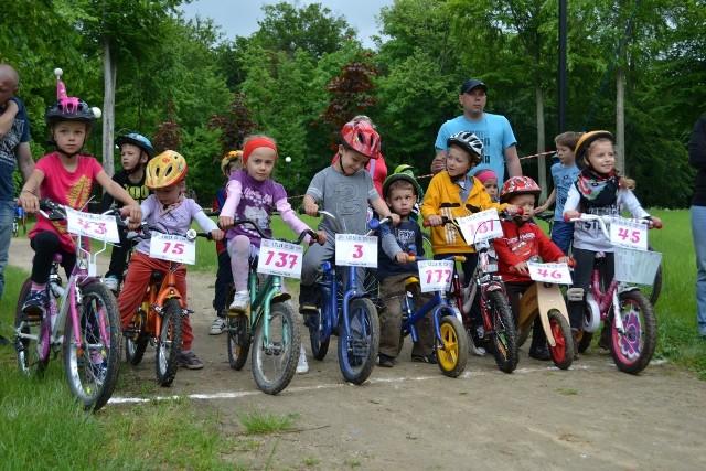 Zawody rowerowe na dzień dziecka w Człuchowie 2013 r