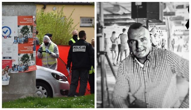 Mł. asp. Michał Kędzierski został zastrzelony na służbie podczas kontroli na ulicy Chełmońskiego w Raciborzu  Zobaczkolejnezdjęcia. Przesuwajzdjęcia w prawo - naciśnij strzałkę lub przycisk NASTĘPNE