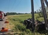 Śmiertelny wypadek koło Żagania! Zginęła 37-letnia kobieta 18-06-2021