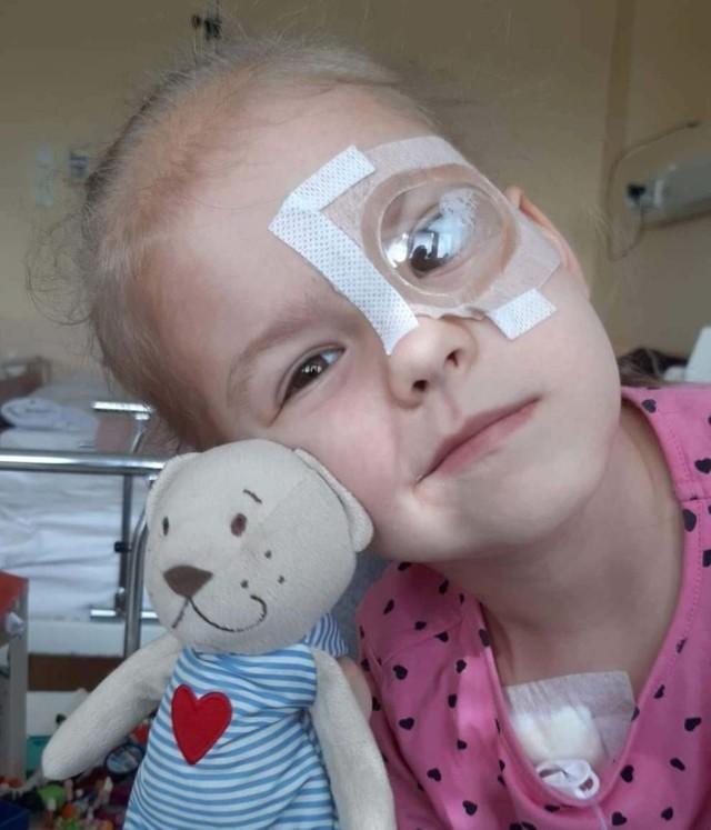 Nina z Gostchorza walczy z nietypowym nowotworem pnia mózgu i potrzebuje wsparcia.