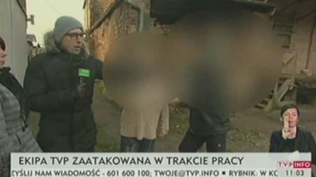 Mężczyzna z Przelewic, który wczoraj zaatakował ekipę TVP ...