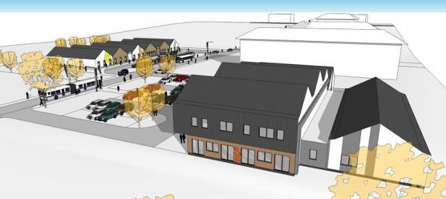 Tak będzie wyglądało nowe przedszkole w Gdańsku przy ul. Kolorowej