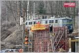 Wałbrzych: Rozpoczął się piąty miesiąc budowy przystanku kolejowego Wałbrzych Centrum (ZDJĘCIA)