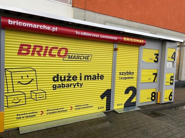 Bricomarche w Gnieźnie wprowadziło boksy do bezkontaktowego odbioru zamówień