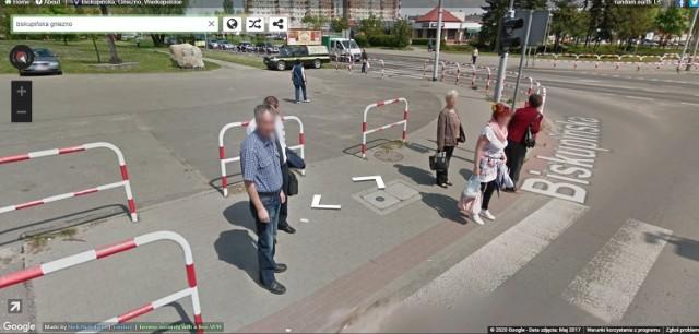 Google Street View - Gniezno i mieszkańcy na zdjęciach
