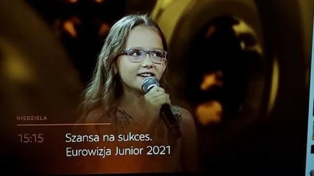 """Czy zwycięży w jutrzejszym odcinku """"Szansy na sukces. Eurowizja Junior"""" i powalczy o wyjazd na finał do Paryża? Przekonamy się jutro o godz. 15.15. Trzymamy kciuki za Lenkę!"""