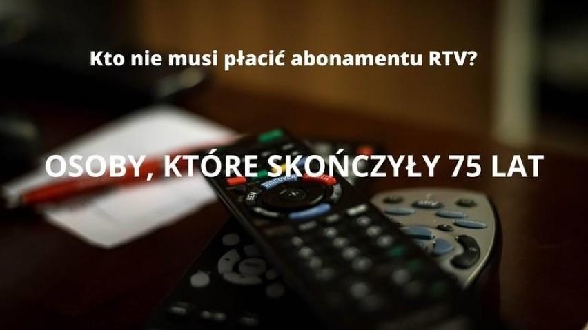 Te osoby nie muszą płacić abonamentu RTV 2021. Oto lista zwolnionych [12.07]