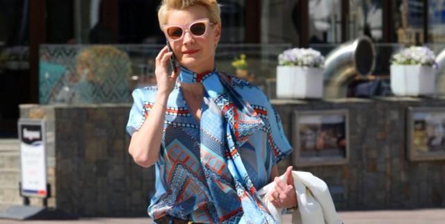 Małgorzata Kożuchowska dzwoni do klientów sieci CCC i namawia do składania zamówień online