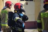 Pożar w firmie produkcyjnej przy al. Wojska Polskiego [ZDJĘCIA]