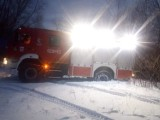 Gmina Chełmno. W Walentynki strażacy znaleźli w domu zatrutą czadem parę. Jedna osoba nie żyje