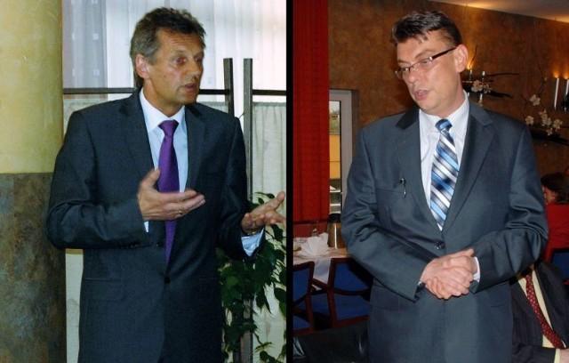 Dyrektor Roman Walkowiak i burmistrz Andrzej Grzmielewicz już od wielu miesięcy nie mogą znaleźć wspólnego języka