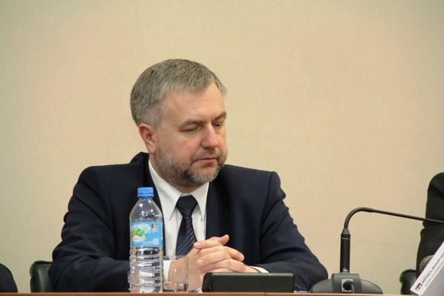 Marek Woźniak, marszałek Wielkopolski odwiedził 26 marca Międzychód.