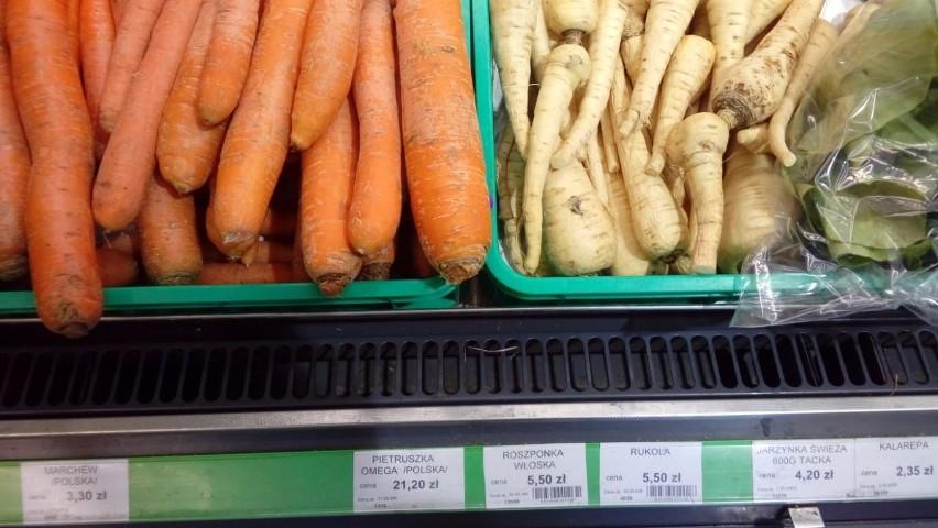 Ceny pietruszki są niewyobrażalnie wysokie. Za kilogram...
