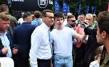 """""""Dzieci są przyszłością narodu"""". Premier Mateusz Morawiecki gościem pikniku rodzinnego w Kaliszu ZDJĘCIA"""