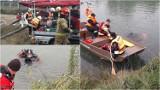 Wielka akcja ratunkowa koło Tarnowa. Strażacy wyławiali samochód i pasażerów. Ćwiczenia zakończyły się sukcesem [ZDJĘCIA]