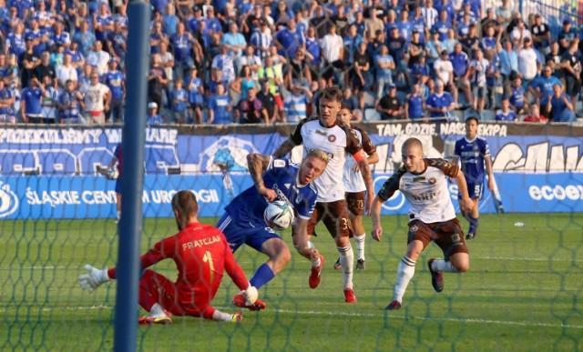 Ruch Chorzów - Garbarnia Kraków 0:0 w meczu rozegranym 21 sierpnia 2021 roku