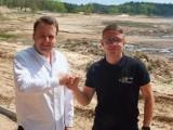 Prace wokół zalewu Lubianka w Starachowicach idą pełną parą. Zobaczcie co już zrobiono [ZDJĘCIA]