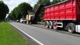 Drogowcy przebudowują dwa odcinki drogi krajowej nr 45 w powiecie krapkowickim