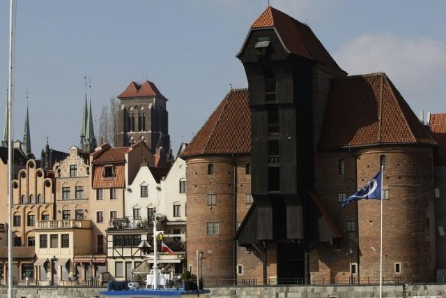 W pierwszej dziesiątce znalazł się również Żuraw Gdański - jeden z symboli miasta.