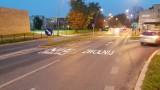 W Jaworznie ostrzegają przy przejściach dla pieszych