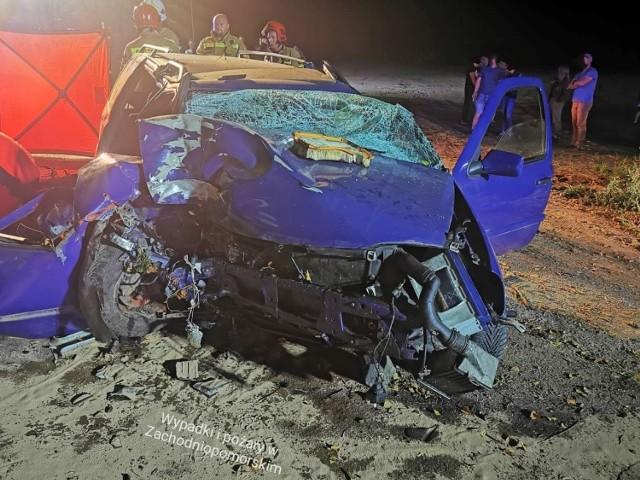 Do tragicznego wypadku doszło w pobliżu miejscowości Skoczów.