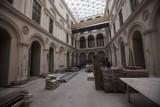 Kraków. Gliński na placu remontu Muzeum Czartoryskich [ZDJĘCIA]
