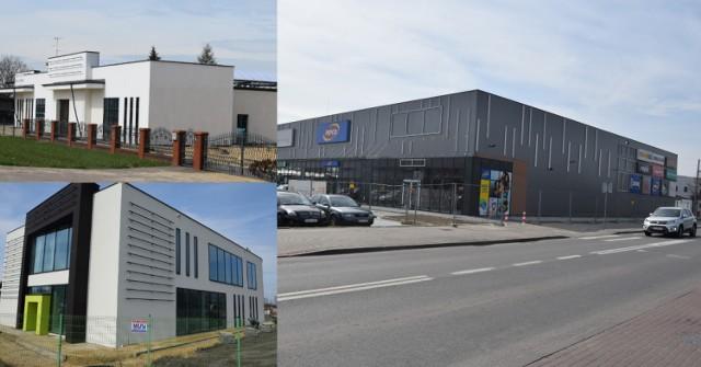 Nowe obiekty handlowe przy ul. Warszawskiej nabierają kształtu